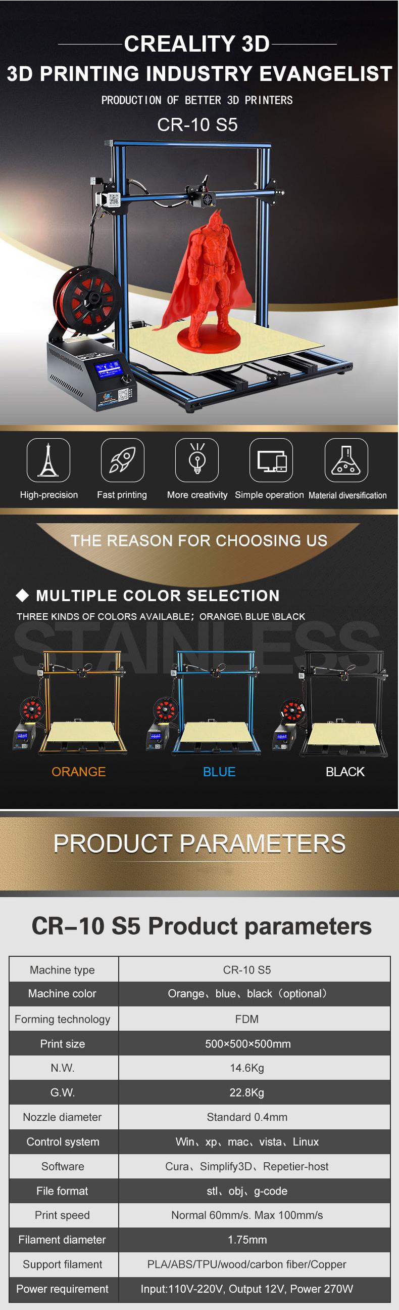 3D Printer Details – Smart Office Connexion